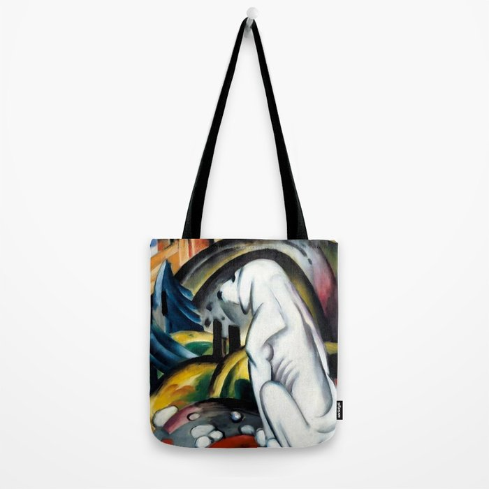 "Franz Marc ""The White Dog"" Tote Bag"