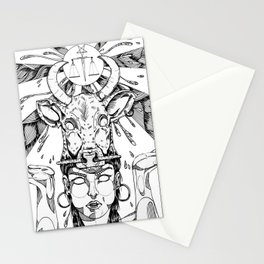 ethnicgirl Stationery Cards