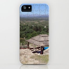 Landscape Puzzle iPhone Case