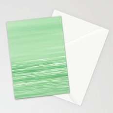 Seascape Green Stationery Cards