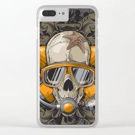 Crânio Clear iPhone Case