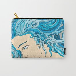 Mermaid Hair Carry-All Pouch