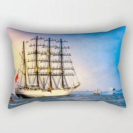 Sail Boston - Union Rectangular Pillow