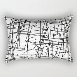 Mind Map Rectangular Pillow