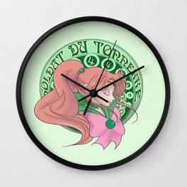 Soldat Du Tonnerre Wall Clock