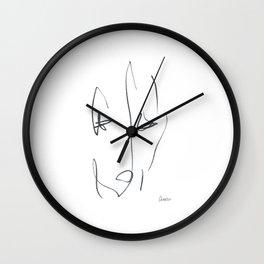 Demeter Moji d22 3-2 w Wall Clock