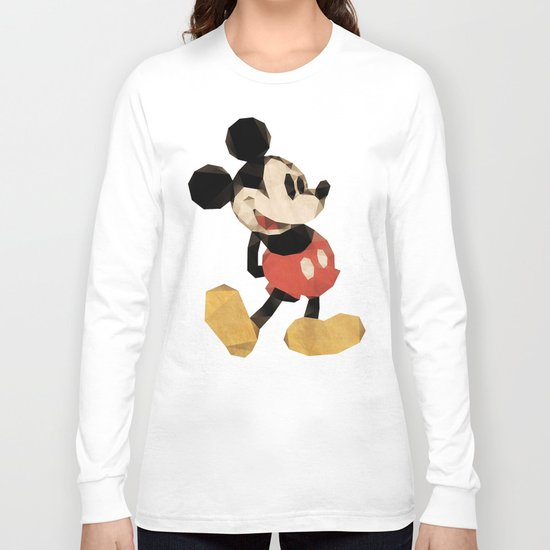 Mr. Mickey Mouse Long Sleeve T-shirt