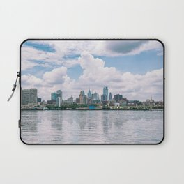 1513 - Philadelphia Cityscape from New Jersey Laptop Sleeve
