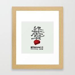 Mondongo Records Framed Art Print