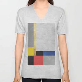 Geometric art XI Unisex V-Neck