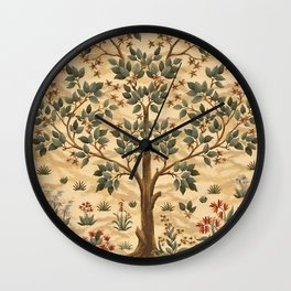 "William Morris ""Tree of life"" 3. Wall Clock"