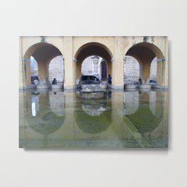 Antigua Reflections Metal Print