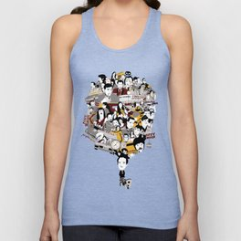 Quentin´s World Unisex Tank Top