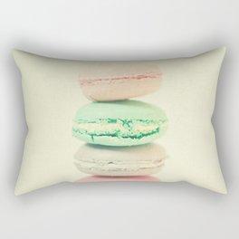 Four Macarons Rectangular Pillow