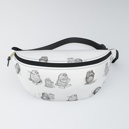 Monsters from Karst evryday life Fanny Pack
