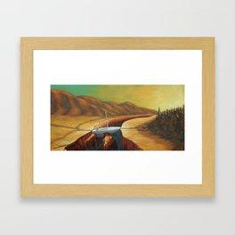 The Unforseen Passage Framed Art Print