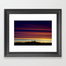 Looming, Weaving, Jupiter (001) Framed Art Print