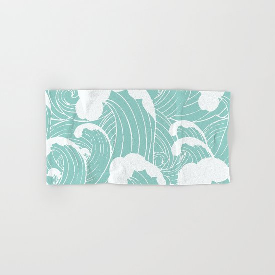 Refreshing waves Hand & Bath Towel