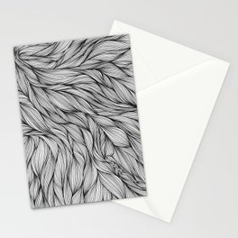 Pin in a Hairstack Stationery Cards