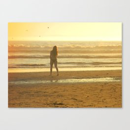HOW SUMMER WOULD FEEL Canvas Print