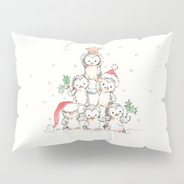 Oh Penguin Tree Pillow Sham