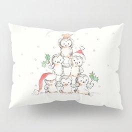 Oh Penguin Tree Pillow Sham