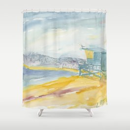 Iconic Venice Beach Shower Curtain
