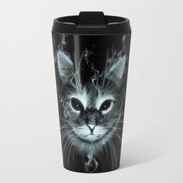 Smoke Cat Travel Mug