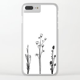Alternative Weeds Clear iPhone Case