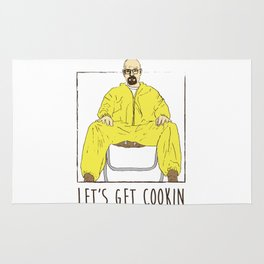 Walter White Let's Get Cookin Rug