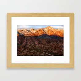 Mount Whitney & Alabama Hills, California Framed Art Print