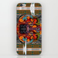 sacred geometry iPhone & iPod Skins featuring Sacred Geometry by Robin Curtiss