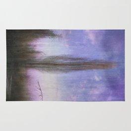Ultra Violet Sunset Rug