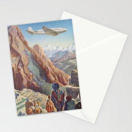 South America 4 Stationery Cards