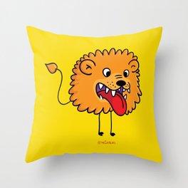 Lion Catbear Throw Pillow