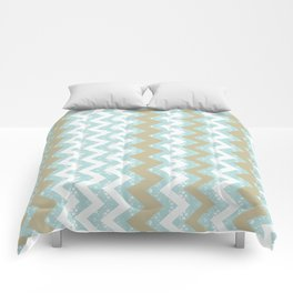 Chevrons and Dots Comforters