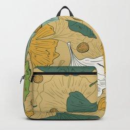 Teal Ginko Backpack