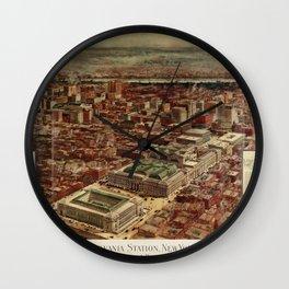Pennsylvania Station 1910 Wall Clock
