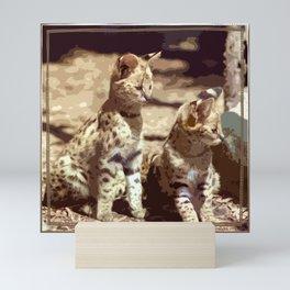 Skip and Theo Mini Art Print