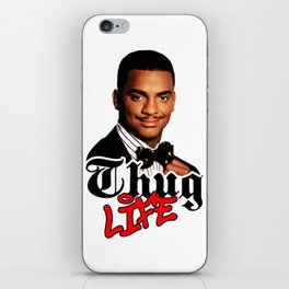Thug Life Carlton iPhone Skin
