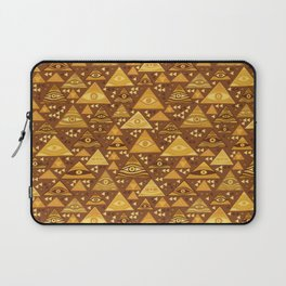Klimt Triangles Laptop Sleeve