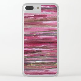 My Heart Bleeds for Equaility Clear iPhone Case