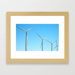 Wind Farm Framed Art Print