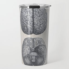 Brain Anatomy Travel Mug