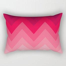 PINK OMBRÉ CHEVRON Rectangular Pillow