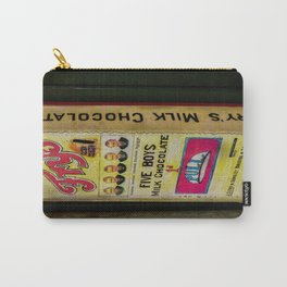 Vintage Chocolate Vending Carry-All Pouch