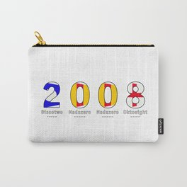2008 - NAVY - My Year of Birth Carry-All Pouch