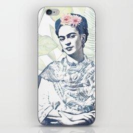Viva la Frida | Watercolor iPhone Skin