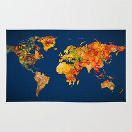 World Map 41 Rug