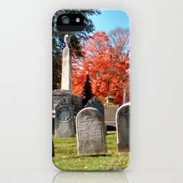 Cemetery#1 iPhone Case